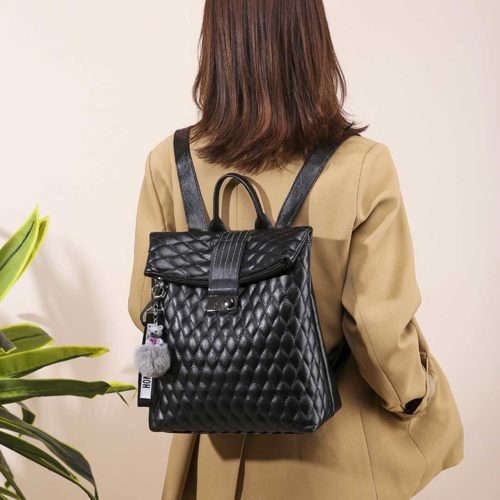 Exclusive Black Casual Backpack for Women Price in Sri Lanka