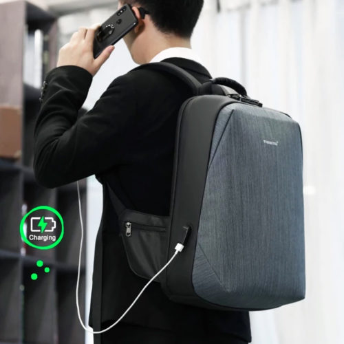 Tigernu Secure X anti-theft branded laptop backpack price in srilanka